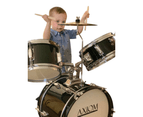 Axiom Childrens Drum Set - Black 7