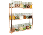 3 Tier Herb & Spice Rack | M&W Rose Gold 1