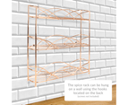 3 Tier Herb & Spice Rack | M&W Rose Gold 2