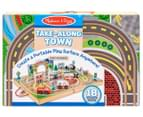Melissa & Doug Take-Along Tabletop Town Wooden Playset 2