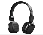 WIWU Bluetooth Headphones with Microphone Deep Bass Wireless Headphones Over Ear Metro2-Black 1