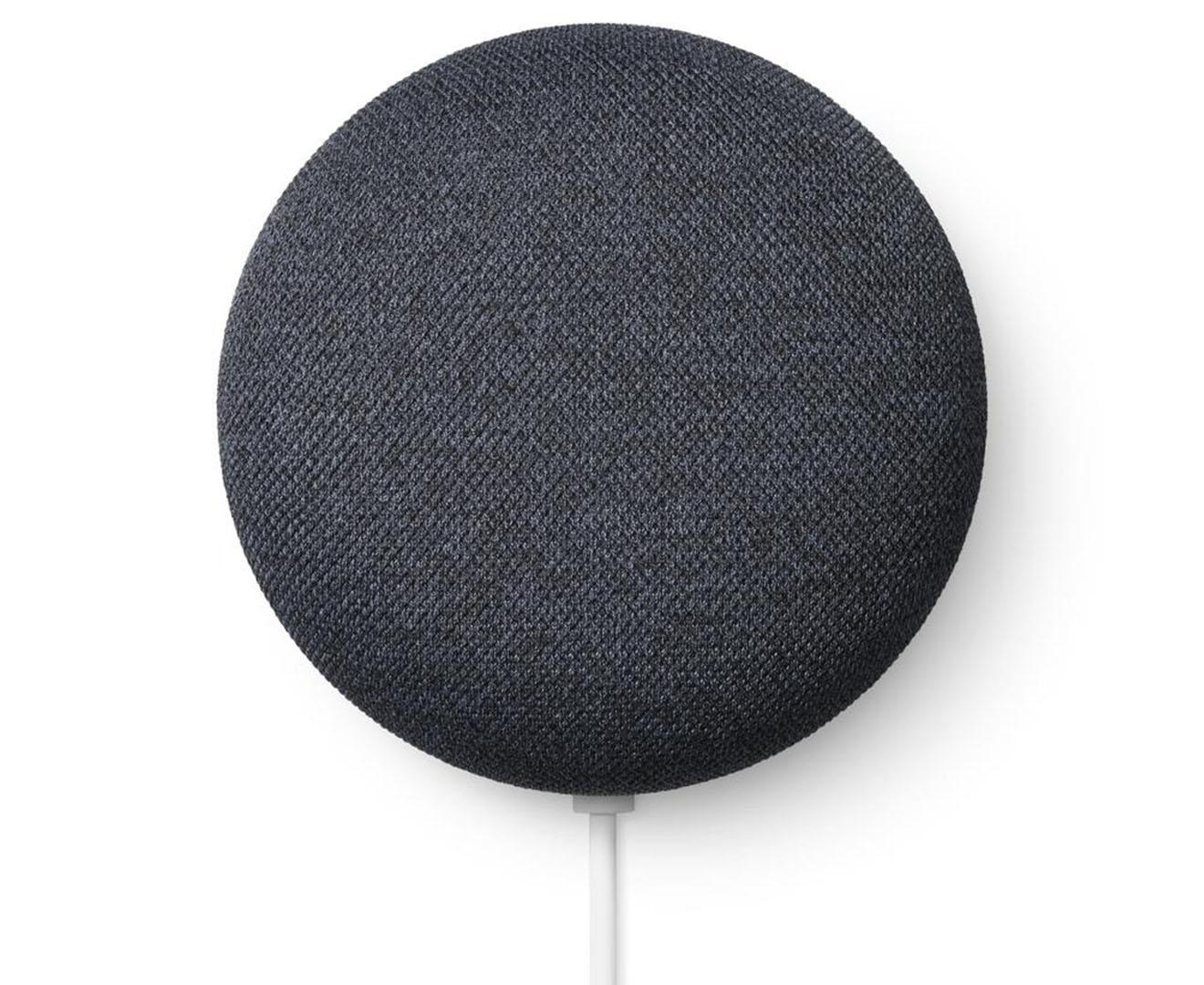 Google Nest Mini Smart Speaker (2nd Gen) - Charcoal | Catch.com.au