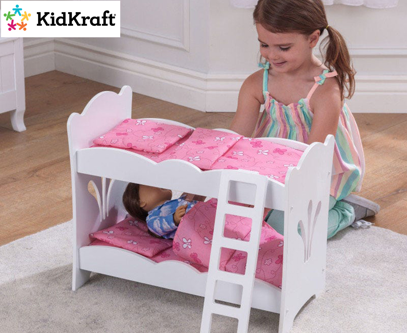 Picture of: Kidkraft Lil Doll Bunk Bed Playset Catch Com Au