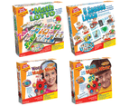 Learning & Memory Games And Toys Bundle - Math Lotto & Math Magic Mixer & Word Magic Mixer & 5Senses 1