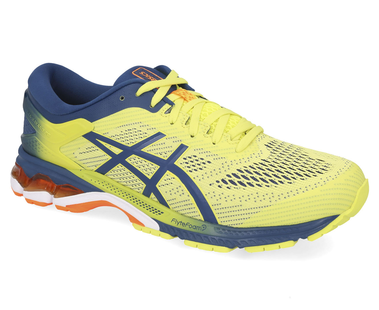 portátil Evaluación bruja  asics gel kayano 26 kai men's shoes sour yuzu/mako blue | Sale OFF-65%