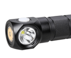 H09 Magnetic Charging Natural White Headlamp Flashlight 4200K - Black 2
