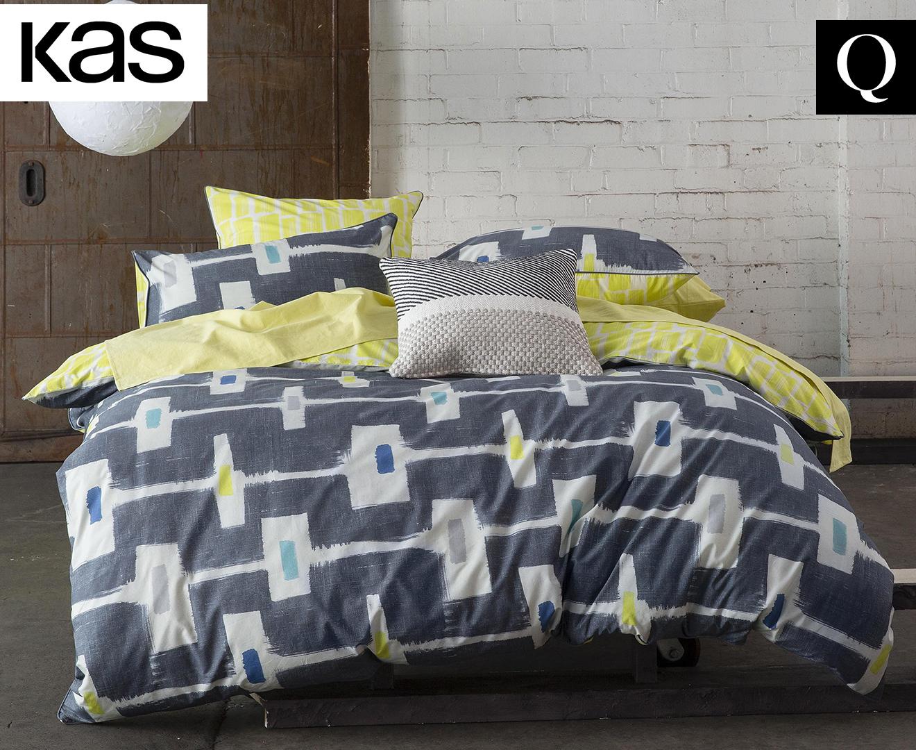 Kas Alika Queen Bed Quilt Cover Set Multi Catch Com Au