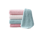 Colorful Microfiber Cleaning Cloth Piece of 10 1