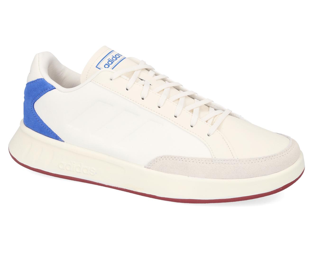Details about Adidas Men's Netpoint Sneakers WhiteBlue