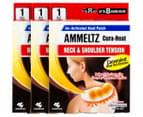 3 x Kobayashi Ammeltz Cura-Heat Neck & Shoulder Pain Patch 1