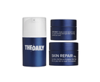 The Daily Men's Grooming Set - Cleanser, Moisturizer, Face Scrub & Mask 1