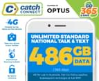Catch Connect 365 Day Mobile Plan - 486GB 1