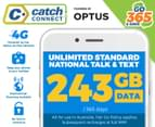 Catch Connect 365 Day Mobile Plan - 243GB 1