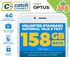 Catch Connect 365 Day Mobile Plan - 158GB 1