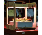 Wooden Kitchen Smart Garden With LED Grow Light - Stylish - Easy To USE 4