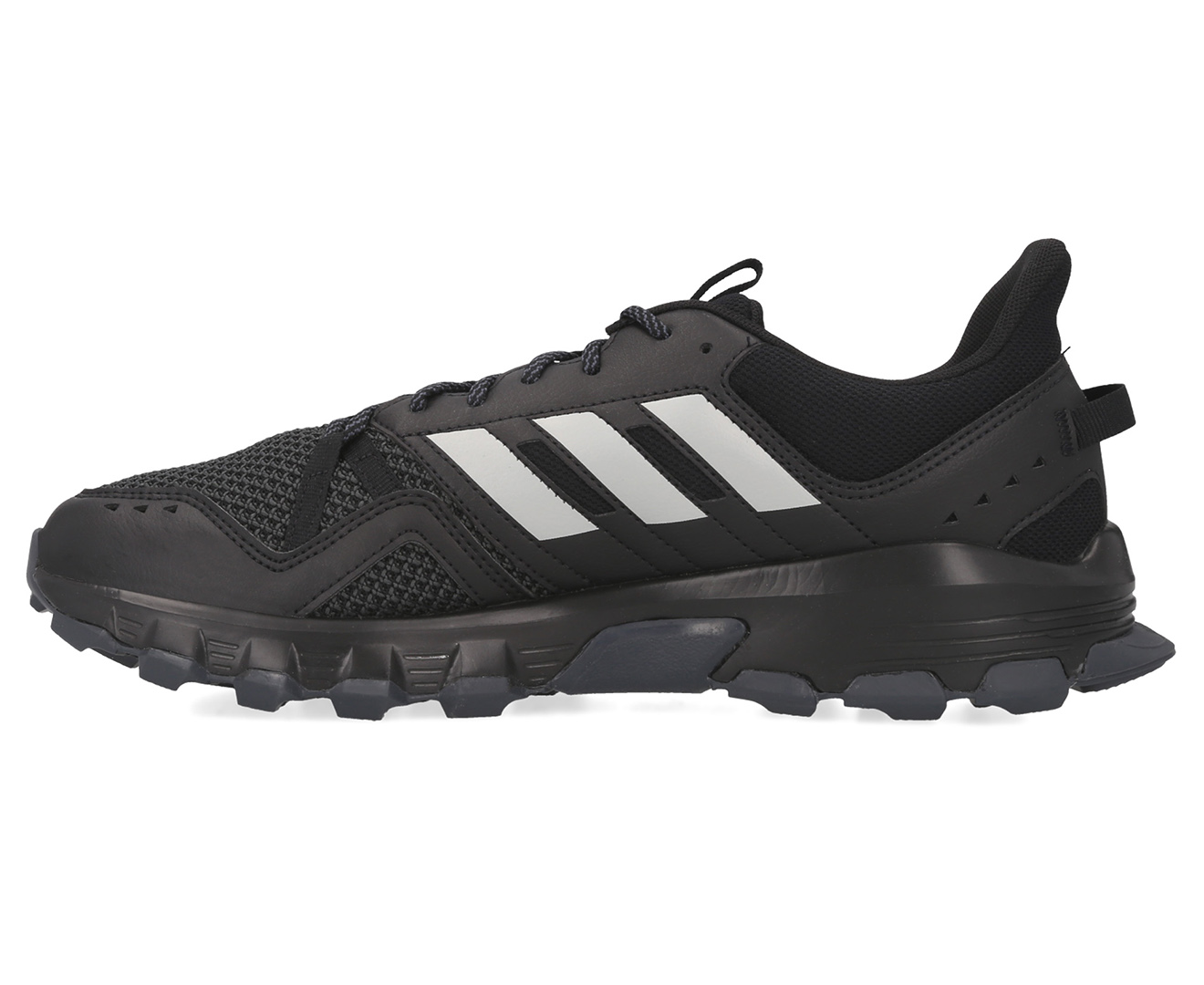 Details about Adidas Men's Rockadia Trail Running Shoes Core BlackGrey TwoGrey Six