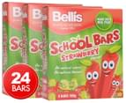 3 x Bellis School Strawberry Bars 160g 8pk 1