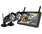 Uniden Guardian G3720 FullHD Digital Wireless Surveillance Sys +2 Weatherprf Cams 1