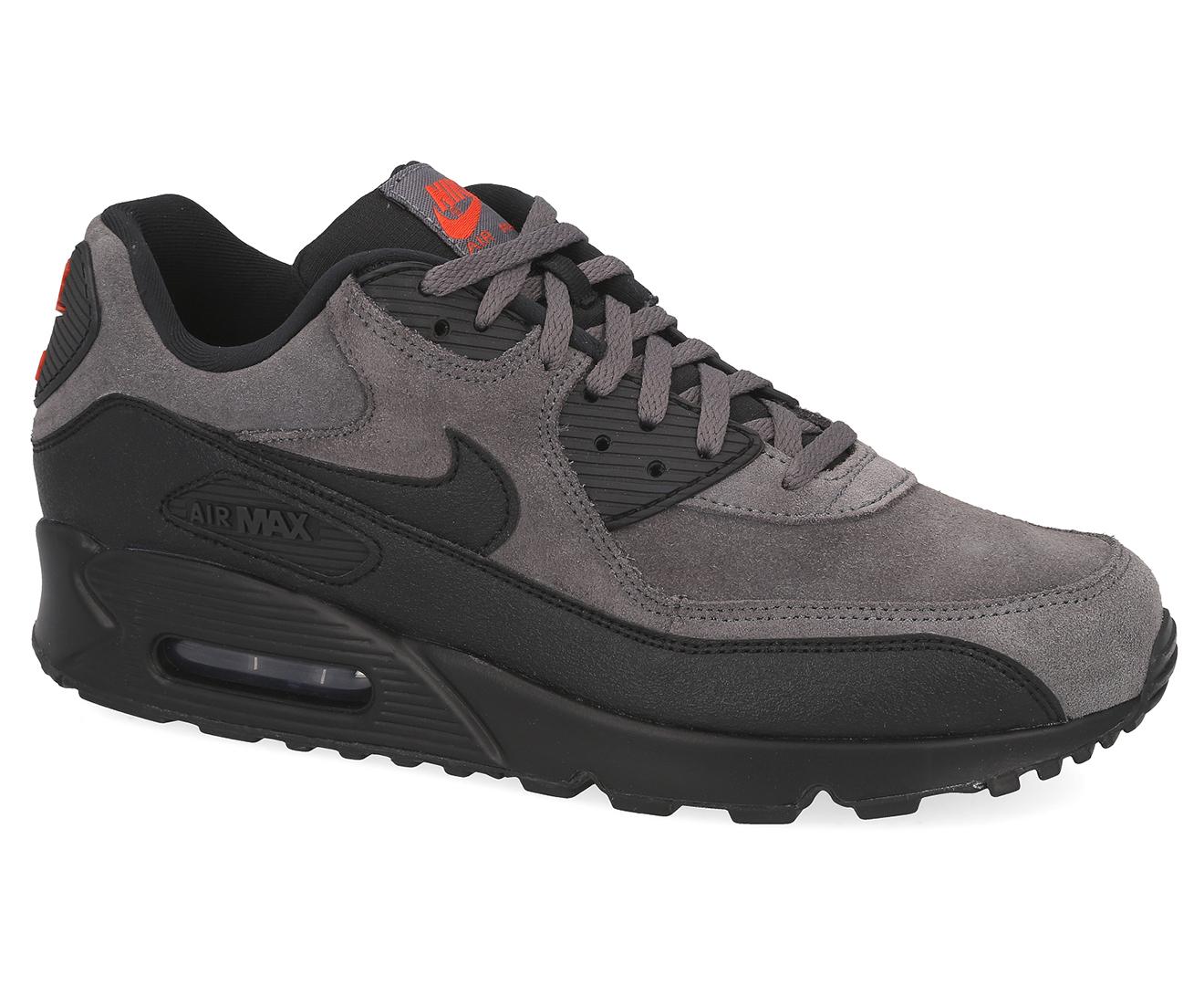 Nike Men's Air Max 90 Essential Sneakers Dark GreyBlack