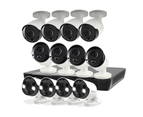 12 Camera 16 Channel 5MP Super HD NVR Security System 1