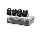 4 Camera 8 Channel 1080p Full HD DVR Security System 1