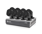 8 Camera 8 Channel 1080p Full HD DVR Security System 1