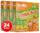 3 x Bellis School Apricot Bars 160g 1