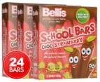 3 x Bellis School Choc Strawberry Bars 160g 1