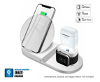 3-in-1 Fast Charge Wireless Charger (WHITE) 1