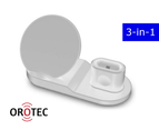 3-in-1 Fast Charge Wireless Charger (WHITE) 2
