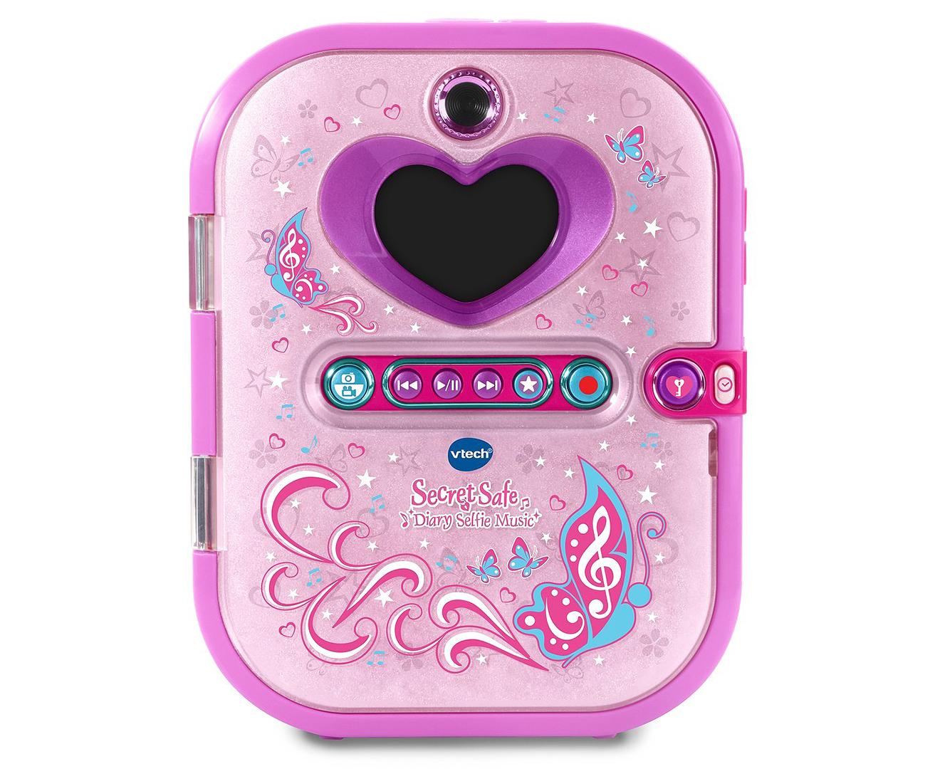 Shop VTech Secret Safe Diary Selfie Music Pad | Stay At Home Mum