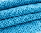 Sheridan Austyn Face Washer 4-Pack - Turquoise 2