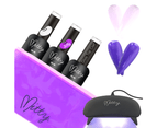 Mitty - Jelly Gel Polish Starter Kit 3 1