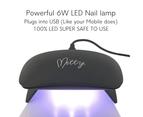 Mitty - Cat Eye Gel Polish Lightning Kit 7