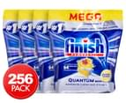 4 x 64pk Finish Powerball Quantum Max Dishwashing Tablets Lemon Sparkle 1