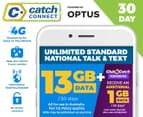 Catch Connect 30 Day Mobile Plan - 13GB 1