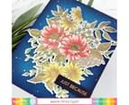 Waffle Flower Crafts Clear Stamp 5in x 7in - Blossoms 3