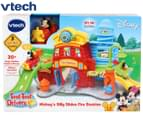 VTech Toot-Toot Drivers Mickey's Silly Slides Fire Station Playset 1