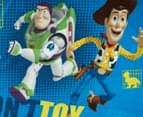 Toy Story 127x140cm Polar Fleece Throw - Don't Toy With Us 3