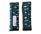 Keep Me Cosy Universal Pram Liner Set - Playful Plane (Deep Teal) 5