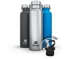 Bevgo Classic Double Wall Vacuum Insulated Stainless Steel Water Bottle – 750 mL  (Blue) 4