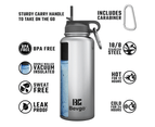 Bevgo Classic Double Wall Vacuum Insulated Stainless Steel Water Bottle – 800 mL  (White) 4