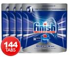 4 x 36pk Finish Powerball Quantum Max Dishwashing Tabs Original 1