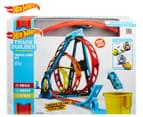 Hot Wheels Track Builder Unlimited Triple Loop Kit Playset 1