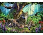 Ravensburger - Wolves in the Forest Puzzle 1000pc 2