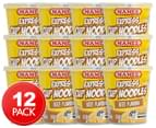 12 x Mamee Express Cup Noodles Beef 63g 1