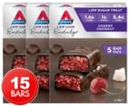 3 x 5pk Atkins Endulge Low Carb Bars Cherry Coconut 1