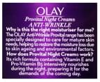 Olay ProVital Anti-Wrinkle Night Cream Moisturiser 50mL 2