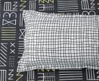 Gioia Casa Alex Fully Reversible King Bed Quilt Cover Set - Multi 4