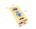 Wooden Body Puzzle Boy 5 Layer Body Puzzle anatomy Kids Puzzle Educational Toy 6